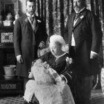 Victoria with baby Edward VIII future kings George V and Edward VII GETTY