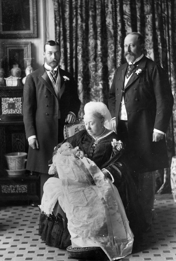 Victoria-with-baby-Edward-VIII-future-kings-George-V-and-Edward-VII-GETTY