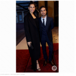 he Big Bang Theory star Kunal Nayyar attends the reception with his wife model Neha Kapur.