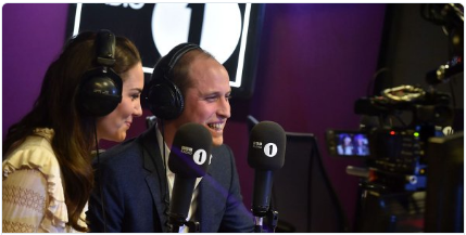 kate middleton and Prince William Photo (C) BBC RADIO