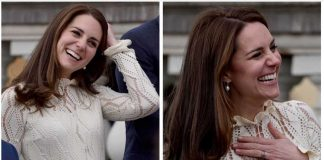 01 Catherine Duchess of Cambridge Prince William and Prince Harry Children Party at Buckingham Palace