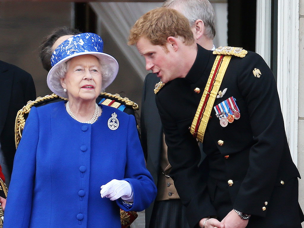 Prince Harry has a close relationship with the Queen Photo Getty