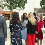 01 The Duchess chats to leading young people in the fields of culture education business and the charitable sector Photo C KENSINGTONROYAL TWITTER