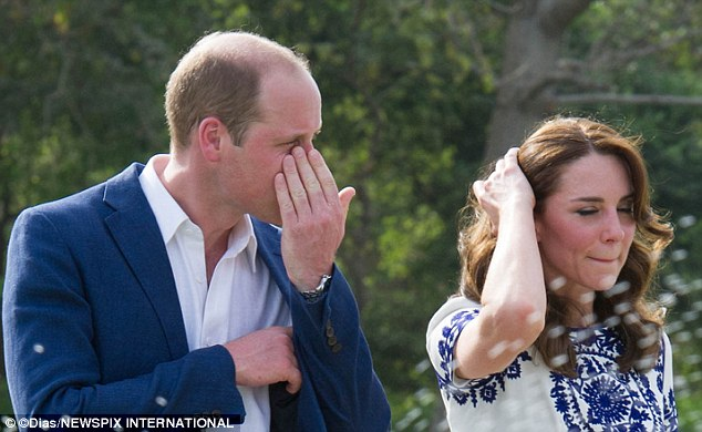 Catherine Duchess of Cambridge and Prince William Upset Photo (C) GETTY IMAGES