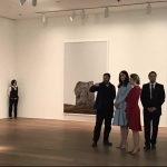 02 HRH tours current exhibitions by British artists Sir Tony Cragg Darren Almond and hears about iconic works of art Photo C KENSINGTONROYAL TWITTER