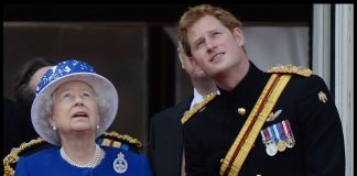 02 Queen Elizabeth II and Prince Harry Photo C GETTY IMAGES