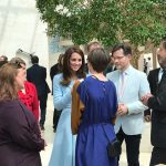 02 The Duchess chats to leading young people in the fields of culture education business and the charitable sector Photo C KENSINGTONROYAL TWITTER
