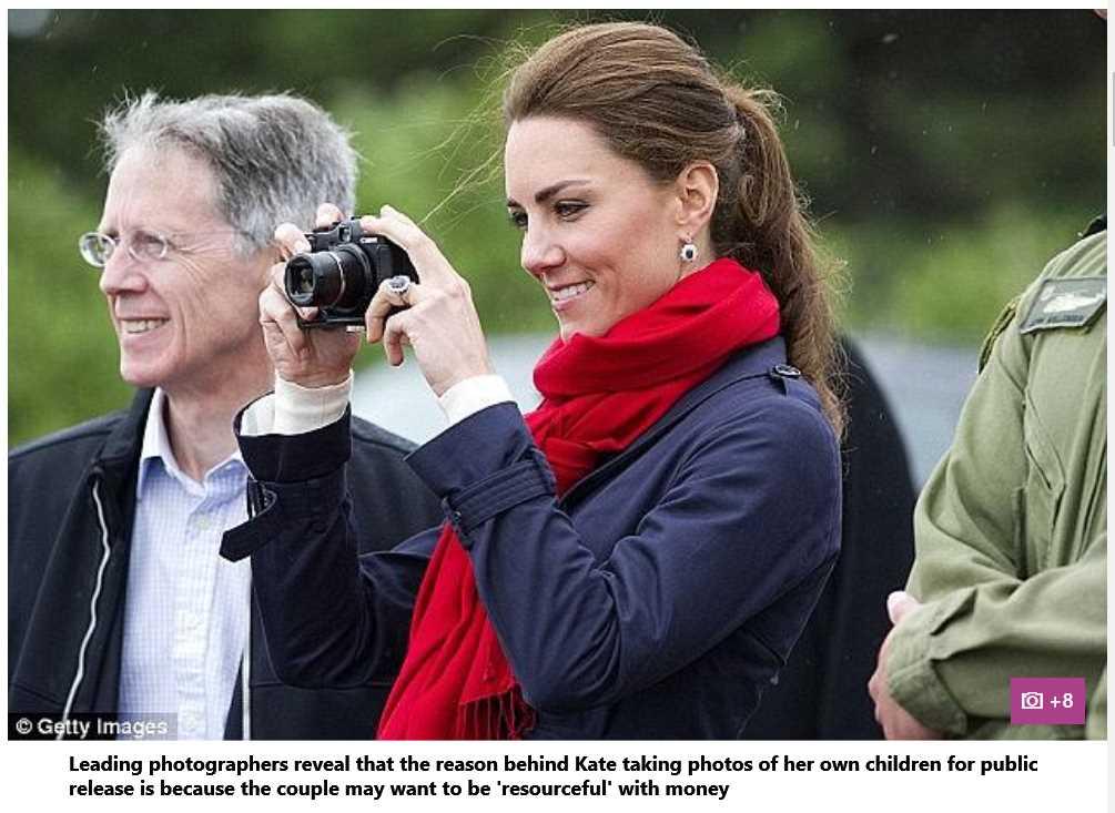 Kate Middleton Took Family Photos