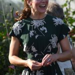 1 Kate who was on hand to help little sister Pippa at her wedding this weekend was in a chatty mood as she talked with Northern Irish designer Ian Price