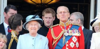1 Queen Elizabeth II Prince Philip Prince William and Prince Harry Photo C GETTY IMAGES