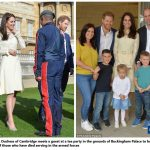 14 Catherine Duchess of Cambridge Prince William and Prince Harry Children Party at Buckingham Palace