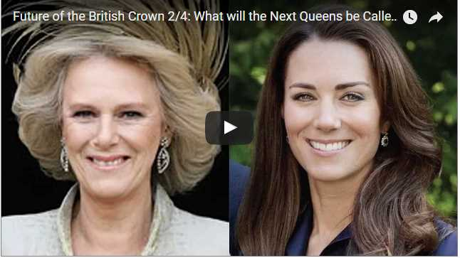 British Crown Queens Future
