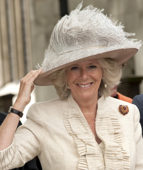 The Duchess Of Cornwall Attends A Commemoration, Celebration And Rededication For The 90Th Anniversary Of Combat Stress, Westminster Abbey, London. (Photo by Mark Cuthbert/UK Press via Getty Images)