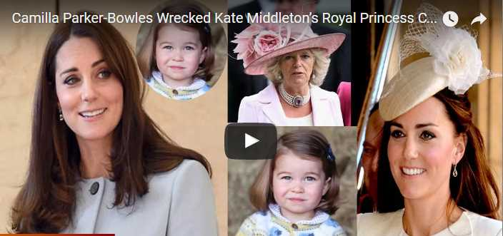 Camilla Parker Bowles Wrecked Kate Middleton's Royal Princess Charlotte Christening