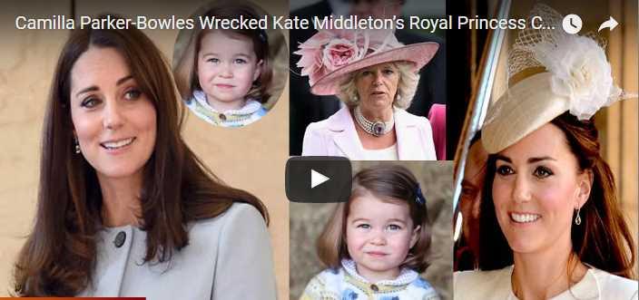 Camilla Parker Bowles Wrecked Kate Middleton's Royal Princess Charlotte Christening