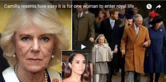Camilla resents how easy it is for one woman to enter royal life