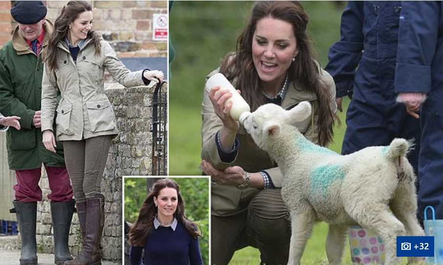 Catherine Duchess of Cambridge Sang Song for Princess Charlotte