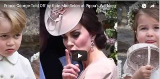 Catherine Duchess of Cambridge Shushes Kids Pippa Middleton Wedding Normal Mom