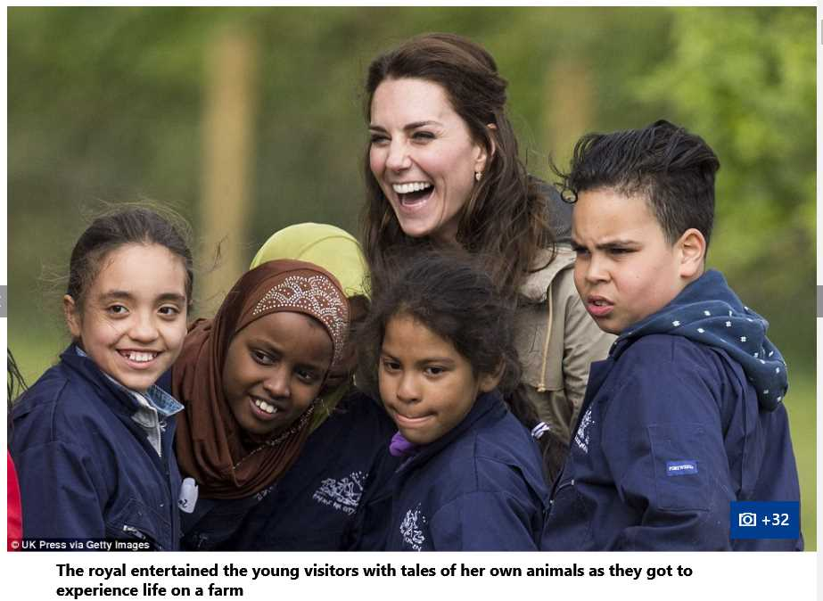 Catherine Duchess of Cambridge Spent Quality Time