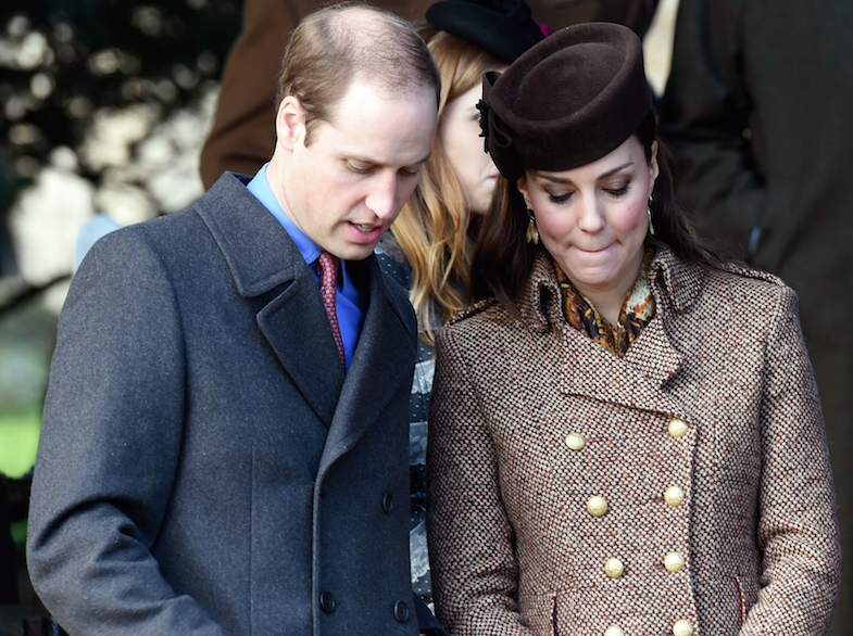 Catherine Duchess of Cambridge and Prince William Upset Photo C GETTY IMAGES