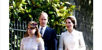 Catherine Duchess of Cambridge gave a silent tribute to Princess Diana Photo (C) SWNS