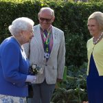 Exchanging baking tips The Queen and Mary Berry appeared to be getting on famously at the event