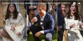 Excited Moment Kate Middleton and Prince Harry Pulled FUNNY FACE at Tea Party