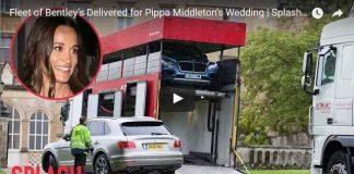 Fleet of Bentley's Delivered for Pippa Middleton's Wedding