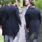 Guests arrived at Pippa Middleton Wedding 0015
