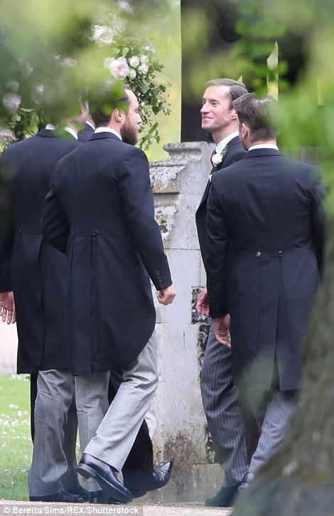 Guests arrived at Pippa Middleton Wedding 0005