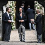 Guests arrived at Pippa Middleton Wedding 0017