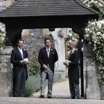 Guests arrived at Pippa Middleton Wedding 0019