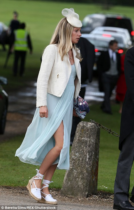 Guests arrived at Pippa Middleton Wedding 0028