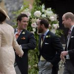 Guests arrived at Pippa Middleton Wedding 0056