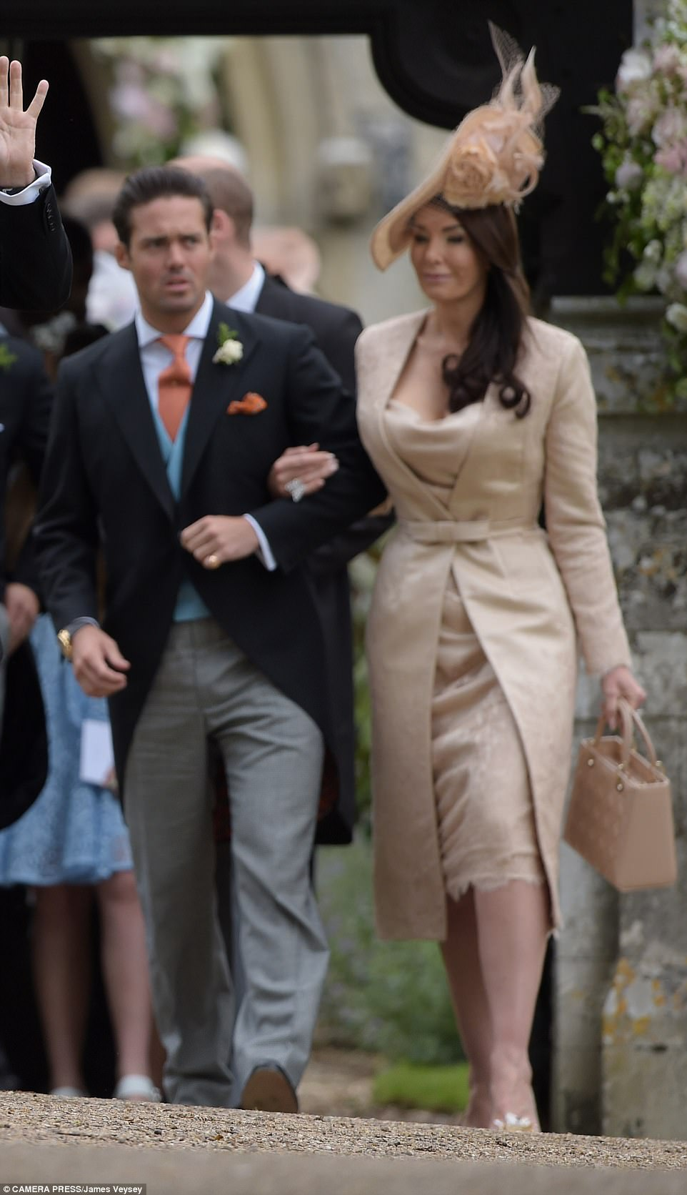 Guests arrived at Pippa Middleton Wedding