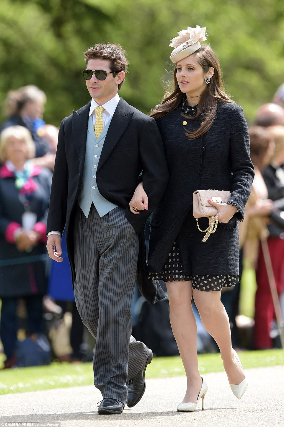 Guests arrived at Pippa Middleton Wedding 0001