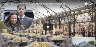 How Pippa Middletons Luxurious Prepares Wedding