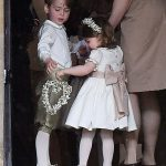It may have been their aunts big day but Prince George and Princess Charlotte managed to steal the limelight from Pippa Middleton as they served as page boy
