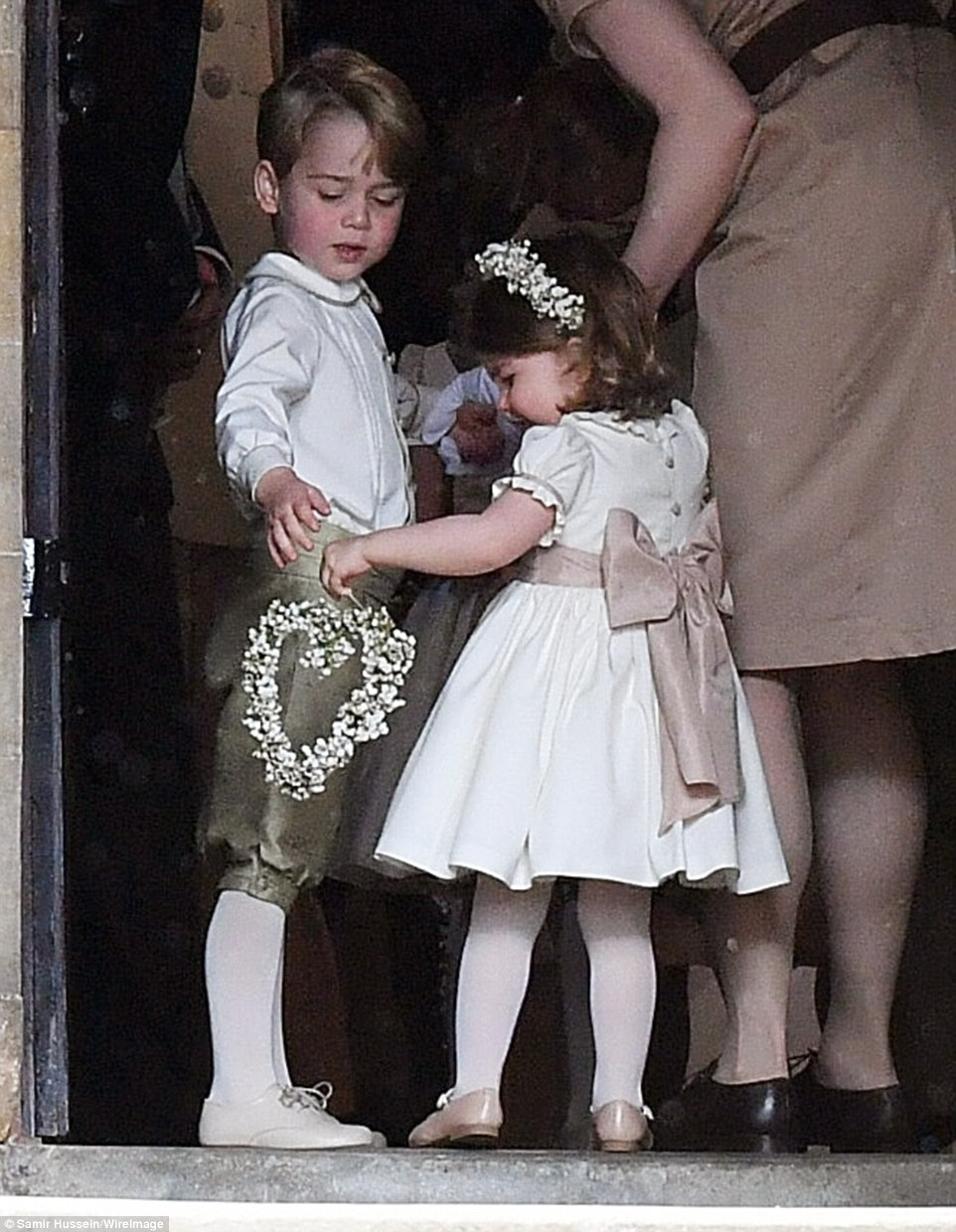 Prince George and Princess Charlotte best pictures from Pippa Middleton's wedding Photo (C) GETTY IMAGES