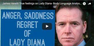 James Hewitt True feelings on Lady Diana Body Language Analysis