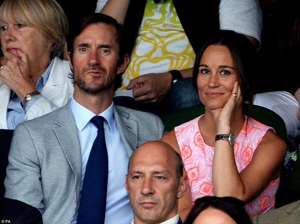 James dated Pippa briefly some ten years ago but remained firm friends with Kates sister and invited her on holiday last year where they sealed their romance