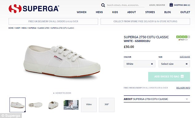 Since opting for a pair of Superga sneakers for her trip to Canada in October 2016 The Duchess of Cambridge