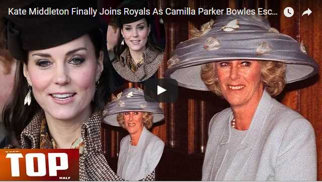 Kate Middleton Finally Joins Royals As Camilla Parker Bowles Escapes Celebrations