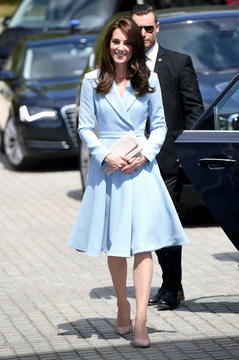 Kate Middleton Has Found the Perfect Sister of the Bride Outfit Photo C GETTY IMAGES