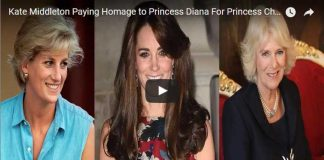 Kate Middleton Paying Homage to Princess Diana For Princess Charlotte's Christening Camilla Parker