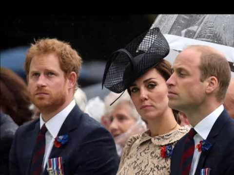 Kate Middleton, Prince William and Prince Harry Photo (C) GETTY IMAGES
