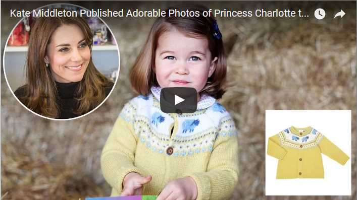 Kate Middleton Published Adorable Photos of Princess Charlotte to Mark Her 2nd Birthday