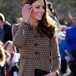 Kate Middleton Steps out in an Orla Kiely dress as she leaves the Rose Hill Primary School in Oxford Photo C GETTY IMAGES