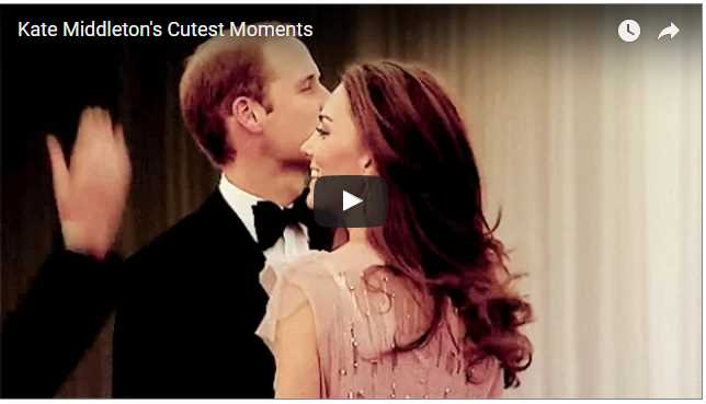 Kate Middletons Cutest Moments