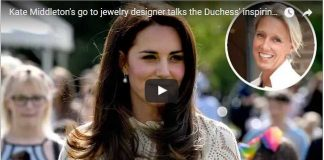 Kate Middletons go to jewelry designer talks the Duchess inspiring style